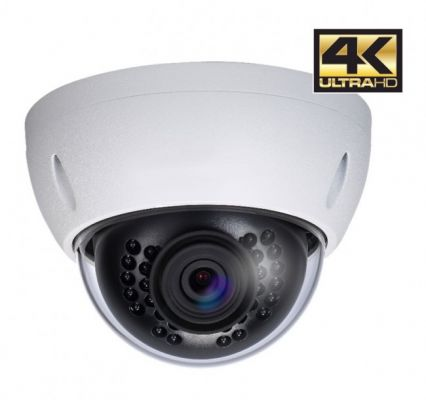 DAHUA ULTRA HD 4K IP Kamera Dome